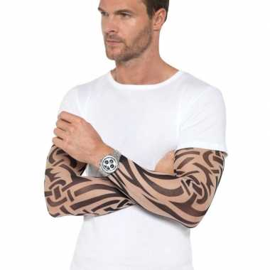 X tattoo sleeves tribal volwassenen carnavalskleding den bosch