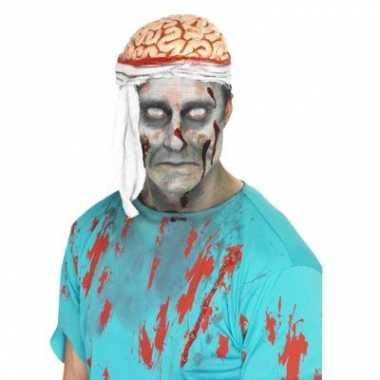Zombie hersenen hoed carnavalskleding den bosch