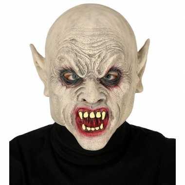 Zombie horror/halloween masker latex carnavalskleding den bosch