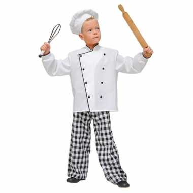 Chef kok carnavalskleding kinderen Den Bosch