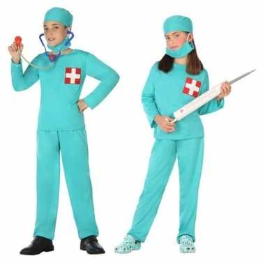 Chirurg/dokter uniform carnavalskleding jongens meisjes den bosch