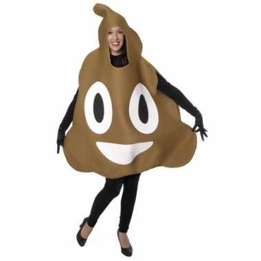 Chocolade ijs emoticon carnavalskleding volwassenen den bosch