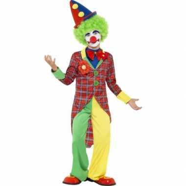 Clowns carnavalskleding kinderen Den Bosch