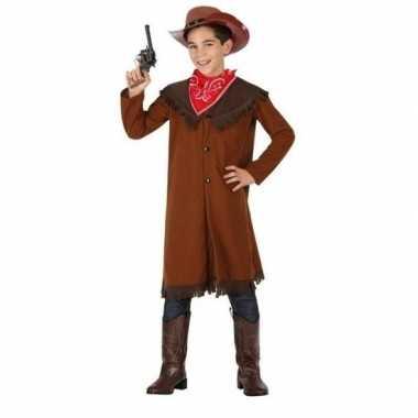 Cowboy john carnavalskleding bruin jongens den bosch