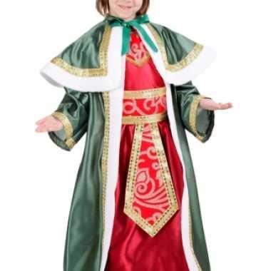 De Drie Wijzen groen carnavalskleding kinderen Den Bosch