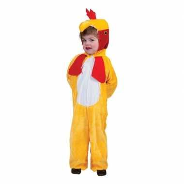 Dieren carnavalskleding kippen/hanen onesie kinderen den bosch