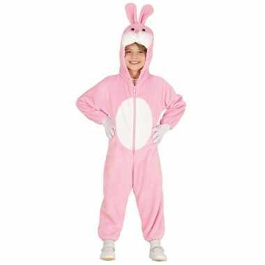 Dieren carnavalskleding konijnen/hazen onesie kinderen den bosch