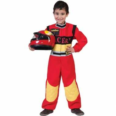 Formule race coureur carnavalskleding kinderen Den Bosch