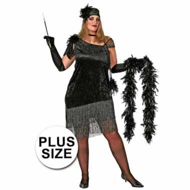 Carnavalskleding Grote Maten Dames.Grote Maat Charleston Carnavalskleding Dames Den Bosch