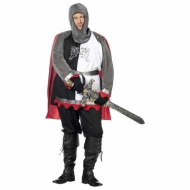 Grote maat middeleeuws ridder carnavalskleding Den Bosch