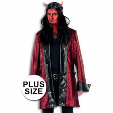 Grote maten halloween carnavalskleding duivel