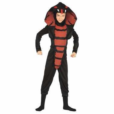 Halloween jongens carnavalskleding cobra slang den bosch