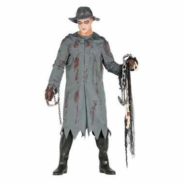Halloween visser verkleed carnavalskleding heren den bosch
