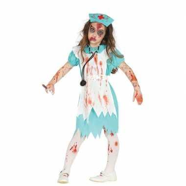 Halloween zombie zustercarnavalskleding meisjes den bosch
