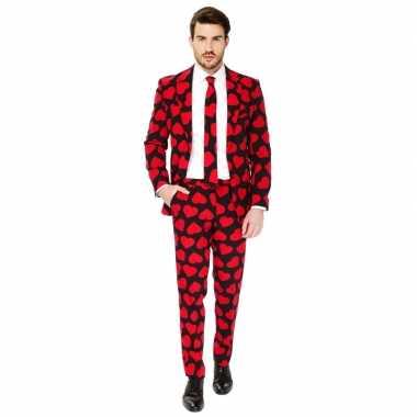 Heren verkleedcarnavalskleding king of hearts business suit den bosch