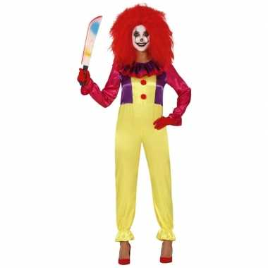 Horror clown verkleed carnavalskleding dames den bosch