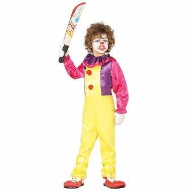 Horror clown verkleed carnavalskleding kinderen den bosch