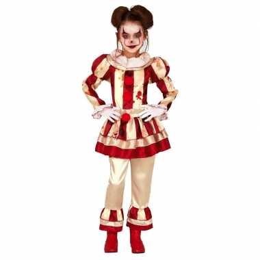 Horror clown verkleed carnavalskleding meisjes den bosch