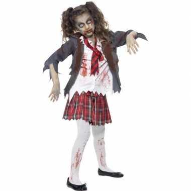 Horror schoolmeisje carnavalskleding meiden bosch