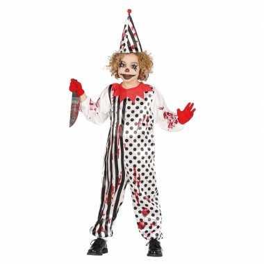 Horrorclown jongens carnavalskleding bloed den bosch