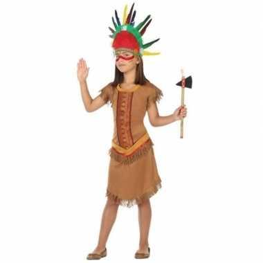 Indianen carnavalskleding jurkje meisjes den bosch