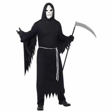 Magere hein carnavalskleding zwart masker den bosch
