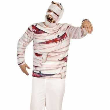 Mummie shirt verkleedcarnavalskleding