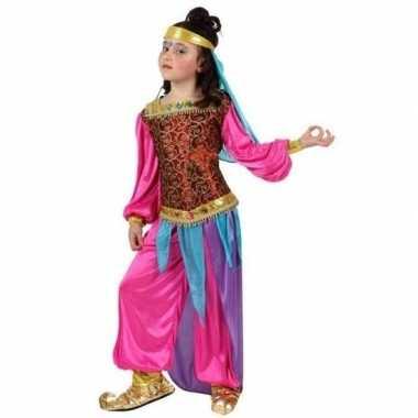 Nacht arabisch carnavalskleding suheda roze meisjes den bosch