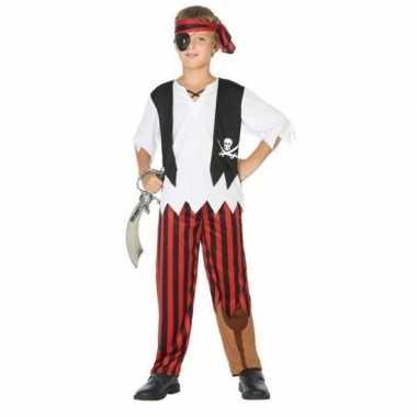 Piraten carnavalskleding / verkleedset jongens den bosch