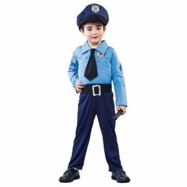 Politie/agent carnavalskleding jongens den bosch