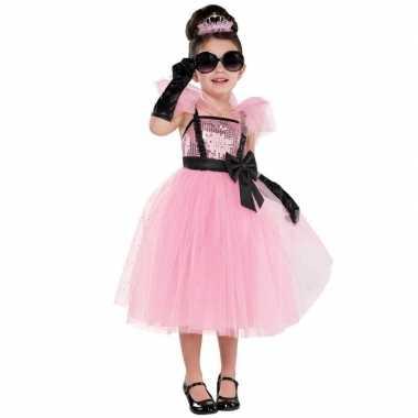 Sprookjes prinses/prinsessen jurk feest carnavalskleding meisjes den