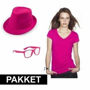 Verkleed carnavalskledingket vrouwen roze den bosch