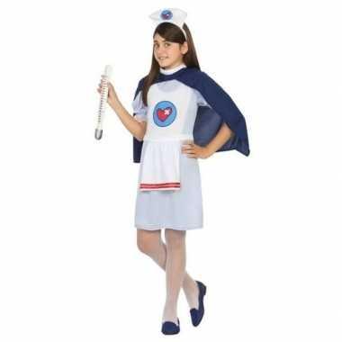 Verpleegster/zuster uniform carnavalskleding meisjes den bosch