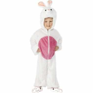 Wit konijnencarnavalskleding kinderen den bosch