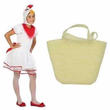 Witte paaskip carnavalskleding jaar mandje kids den bosch
