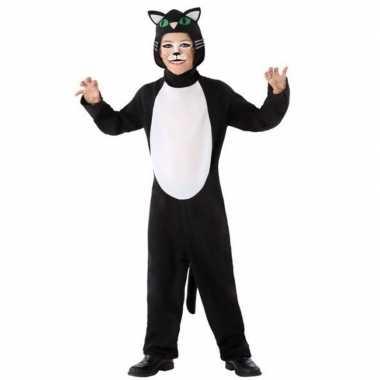 Zwarte kat/poes carnavalskleding kinderen den bosch