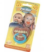 Carnavalskleding baby tandjes fopspeen