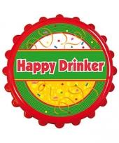 Carnavalskleding bier opener happy drinker