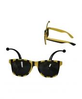 Carnavalskleding bijen zonnebrillen