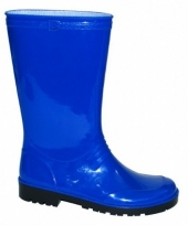 Carnavalskleding blauwe pvc dameslaars iris