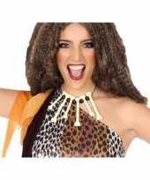 Carnavalskleding botten ketting verkleed accessoire