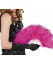 Carnavalskleding burlesque waaiers roze