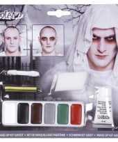 Carnavalskleding complete horror spoken geesten schmink set