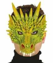 Carnavalskleding draak draken horror halloween masker foam