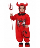 Carnavalskleding duivel baby