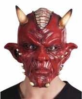 Carnavalskleding duivel lucifer masker volwassenen