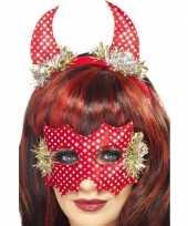 Carnavalskleding duivel set volwassenen