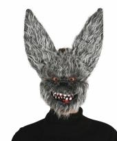 Carnavalskleding enge konijnen masker volwassenen