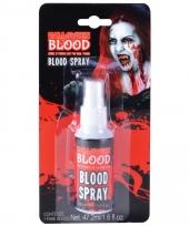 Carnavalskleding flesje bloed spray ml