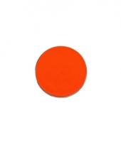 Carnavalskleding fluor oranje schmink gram